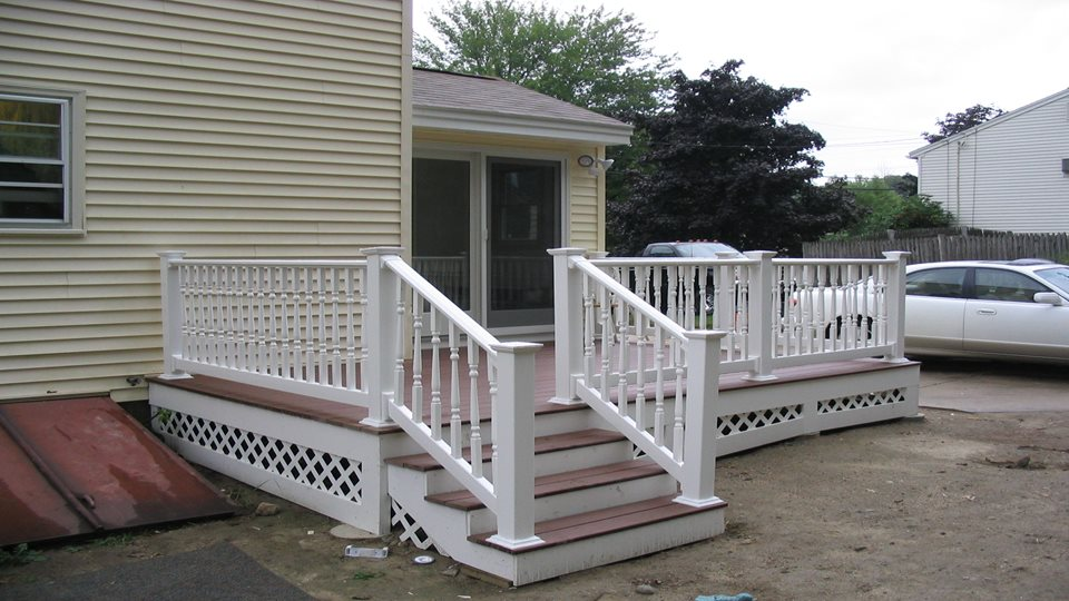 Mudroom and Deck